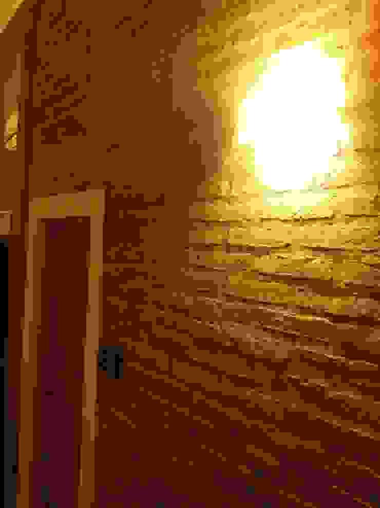 Casa A&P - Interior 1 Paredes y pisos modernos de Módulo 3 arquitectura Moderno Ladrillos