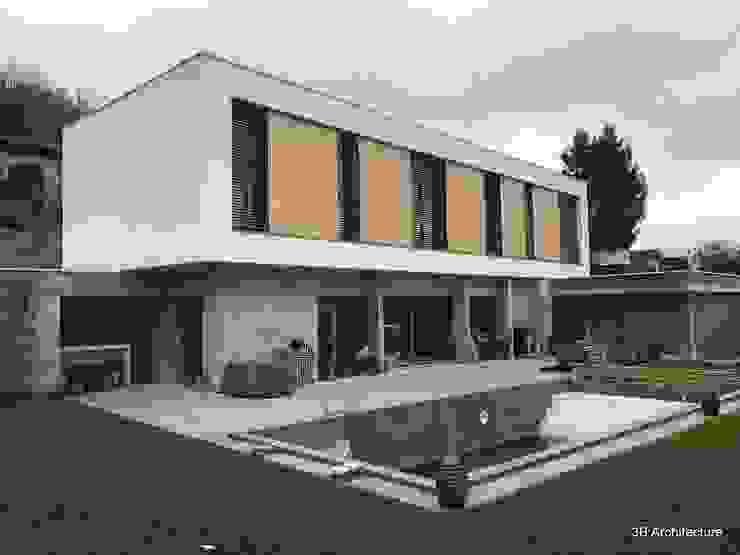 Villa avec piscine par 3B Architecture Minimaliste