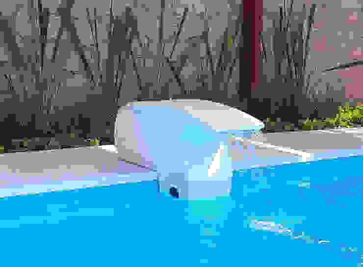 モダンスタイルの プール の Albercas Querétaro FORTEC モダン