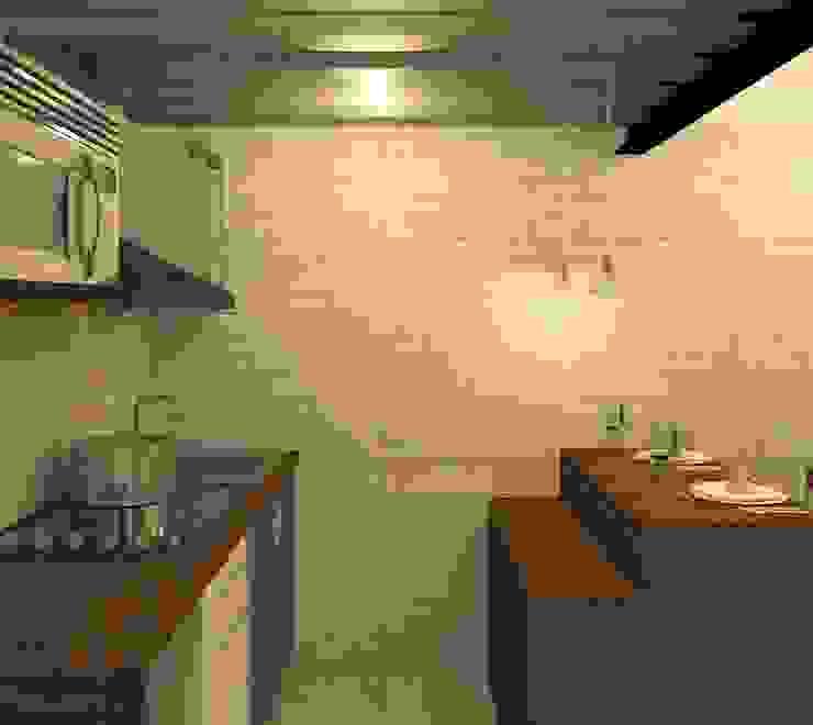 Cocina: Cocinas equipadas de estilo  por Perfil Arquitectónico,