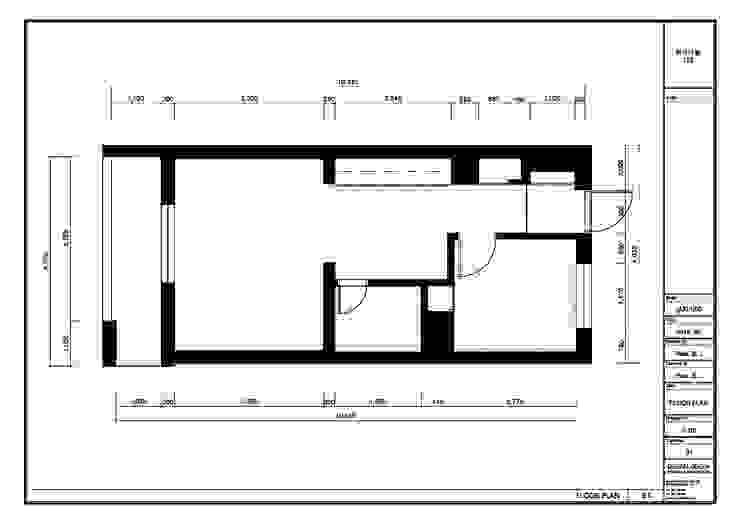 부천 한라 리모델리 18평: 디자인고은의 현대 ,모던