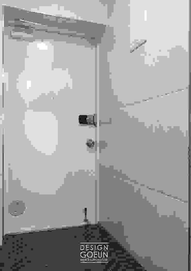 부천 한라 리모델리 18평 모던스타일 복도, 현관 & 계단 by 디자인고은 모던