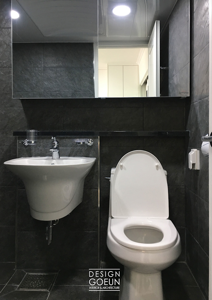 부천 한라 리모델리 18평 모던스타일 욕실 by 디자인고은 모던