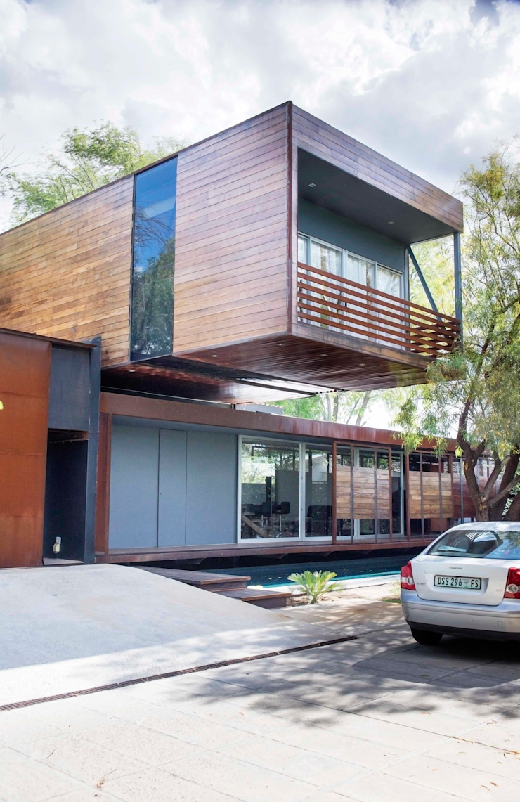 House Bloemfontein Industrial style houses by FAME Projects Industrial