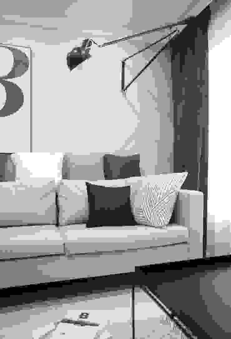 북유럽 감성을 가득 담은 20평대 주택 인테리어 스칸디나비아 거실 by husk design 허스크디자인 북유럽