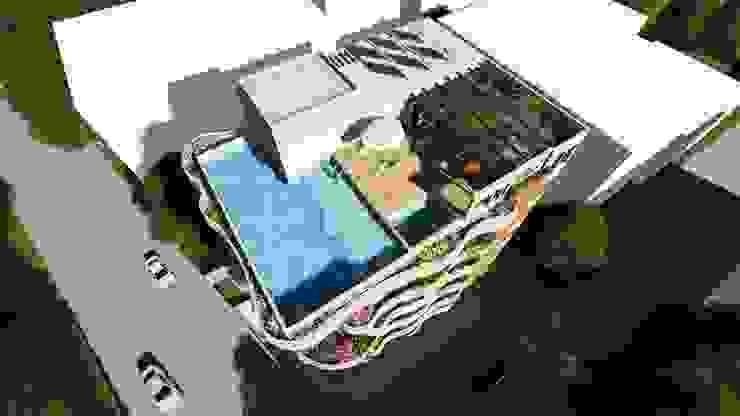 Maisons modernes par smstudio Moderne