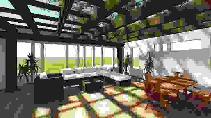 Modern Living Room by smstudio Modern