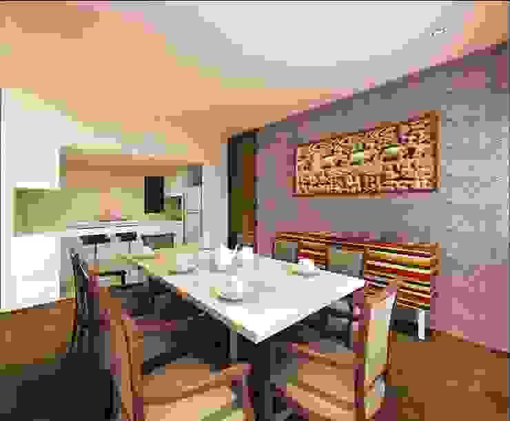 AVANTIKA Modern dining room by smstudio Modern