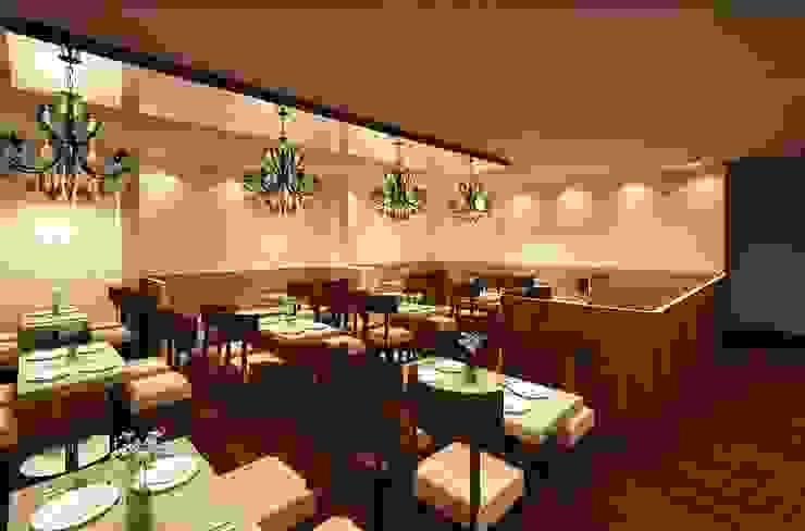HOTEL AT MUNDRA Modern dining room by smstudio Modern
