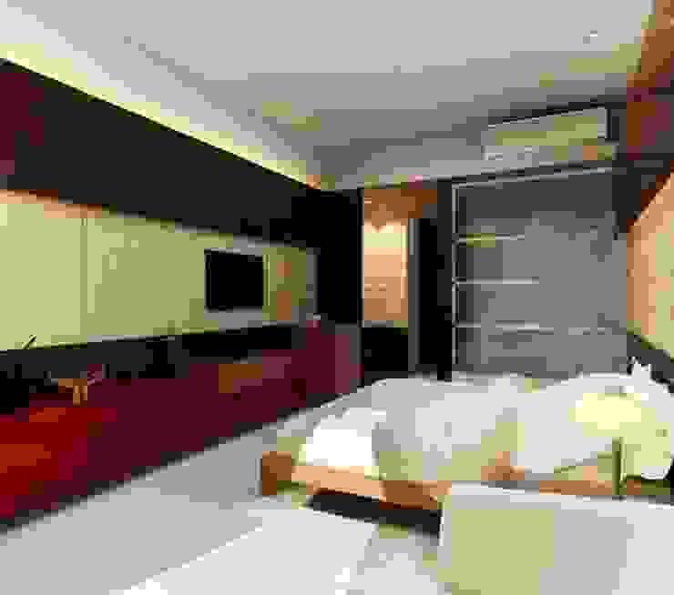 HOTEL AT MUNDRA Modern style bedroom by smstudio Modern