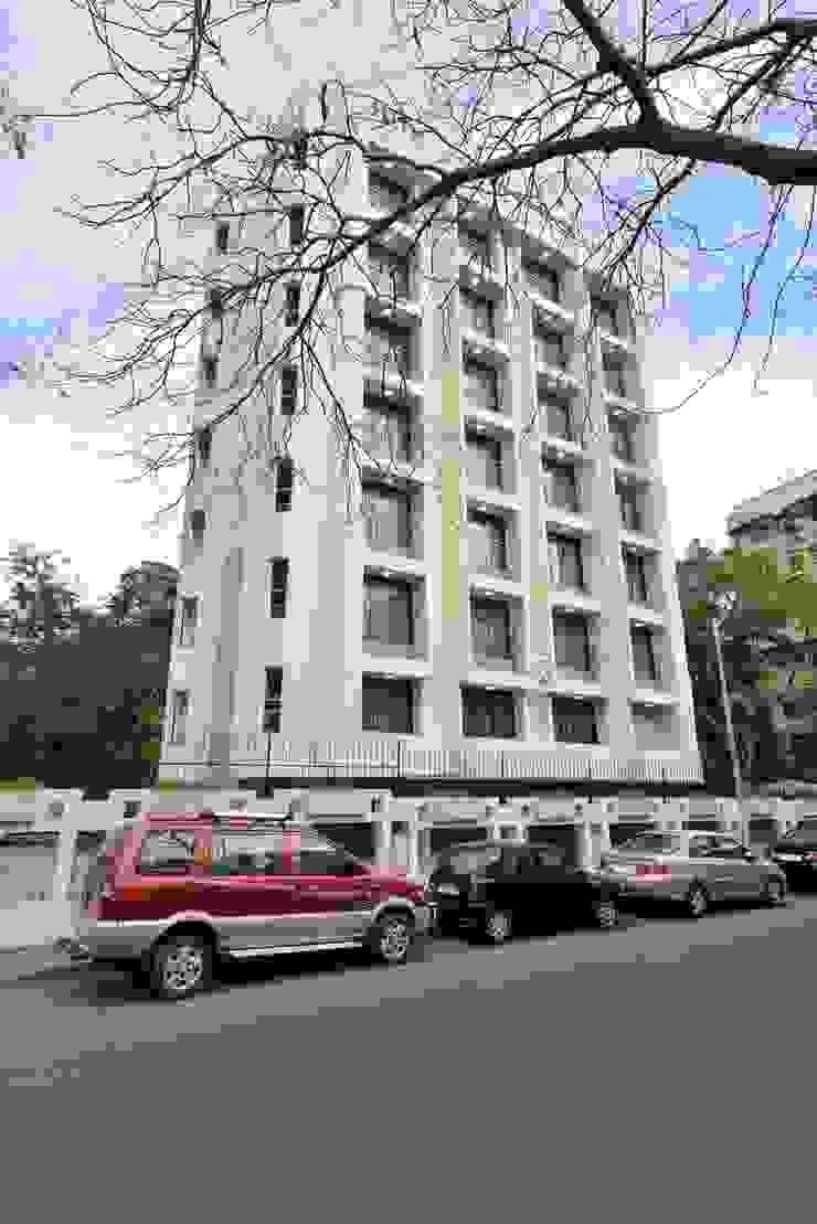 ICICI GUEST HOUSE MUMBAI Modern houses by smstudio Modern