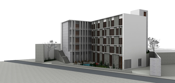 LONAVALA HOTEL Modern houses by smstudio Modern