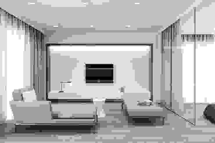 客廳裝修 深白舍空間設計工作室 Living roomSofas & armchairs