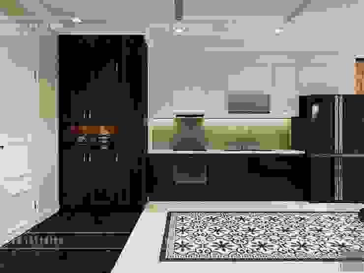 Thiết kế căn hộ Vinhomes Golden River – Phong cách thiết kế mang tiếng vọng xưa bởi ICON INTERIOR Châu Á