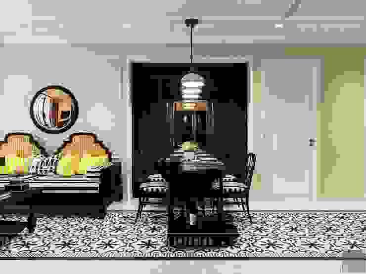 Thiết kế căn hộ Vinhomes Golden River – Phong cách thiết kế mang tiếng vọng xưa Phòng ăn phong cách châu Á bởi ICON INTERIOR Châu Á