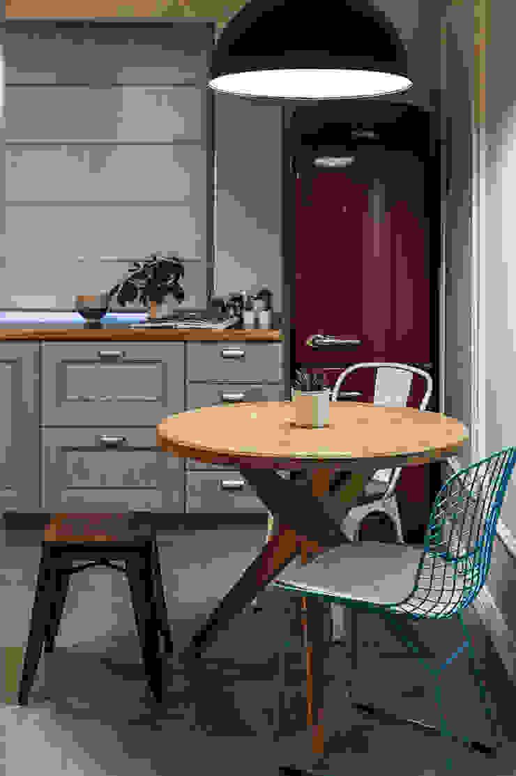Cocinas de estilo escandinavo de 'Студия дизайна Марины Кутеповой' Escandinavo