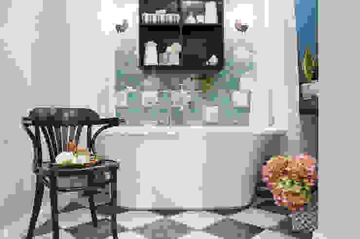 КВАРТИРА В СТИЛЕ ФЬЮЖН. Ванная комната в стиле модерн от 'Студия дизайна Марины Кутеповой' Модерн
