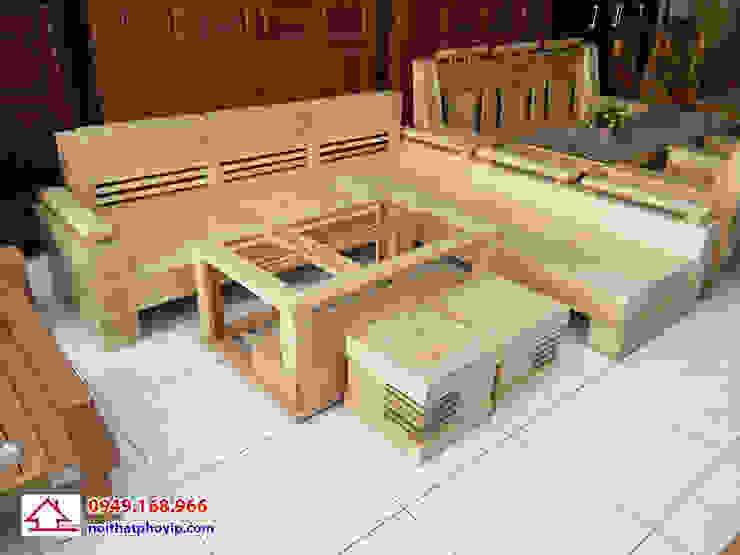Mẫu SLS678: hiện đại  by Đồ gỗ nội thất Phố Vip, Hiện đại