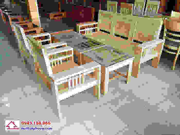 Mẫu SLS677: hiện đại  by Đồ gỗ nội thất Phố Vip, Hiện đại