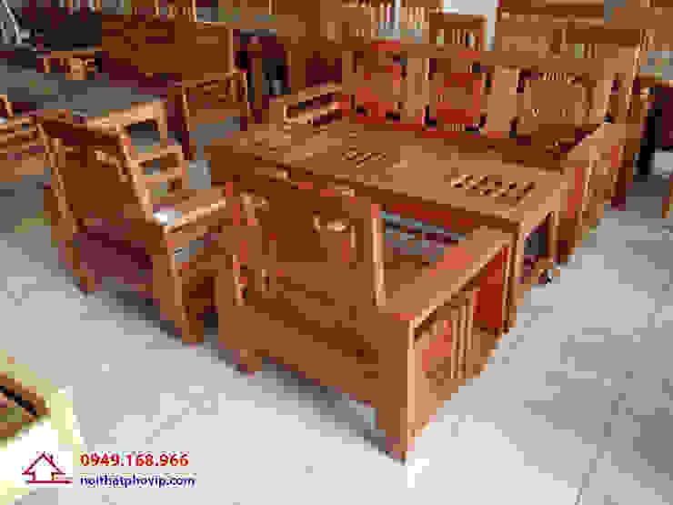 Mẫu SLC609: hiện đại  by Đồ gỗ nội thất Phố Vip, Hiện đại