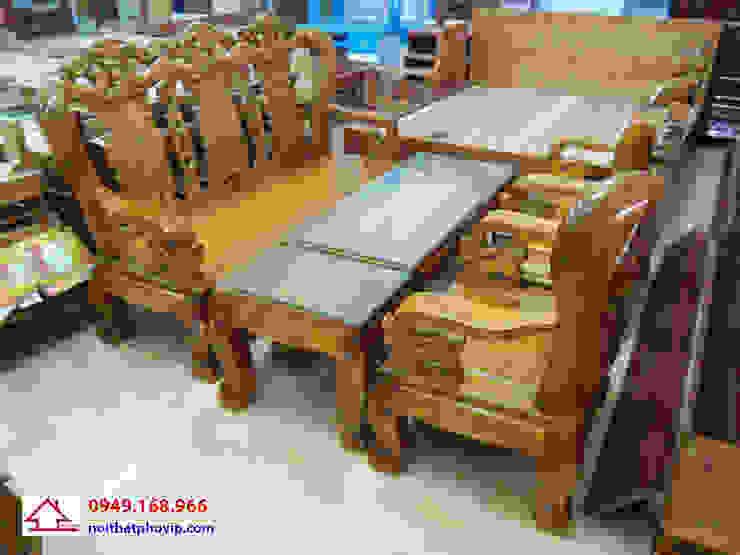 Mẫu SLT497: hiện đại  by Đồ gỗ nội thất Phố Vip, Hiện đại