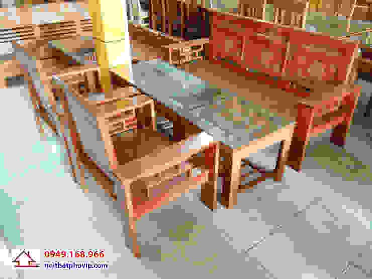 Mẫu SLS072: hiện đại  by Đồ gỗ nội thất Phố Vip, Hiện đại