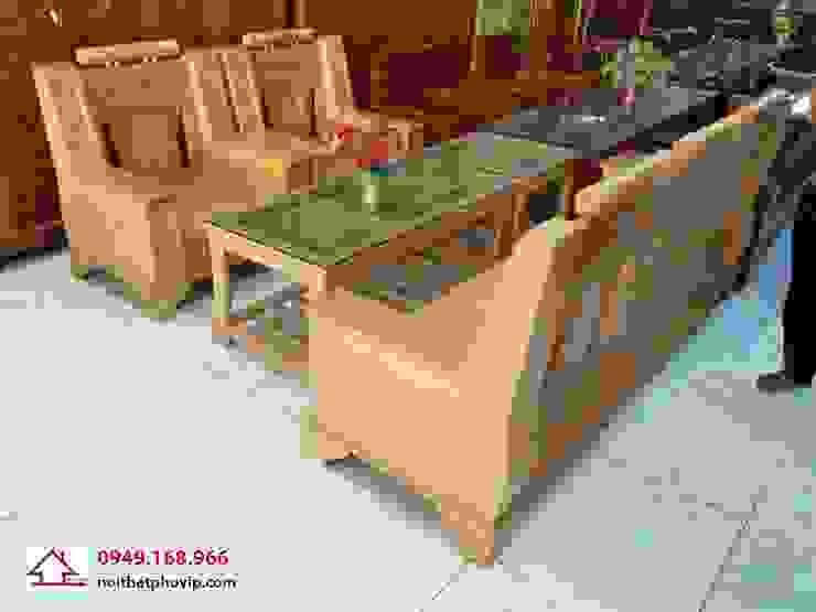 Mẫu SLS083: hiện đại  by Đồ gỗ nội thất Phố Vip, Hiện đại