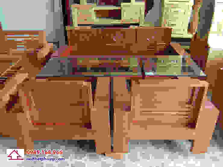 Mẫu SLC085: hiện đại  by Đồ gỗ nội thất Phố Vip, Hiện đại