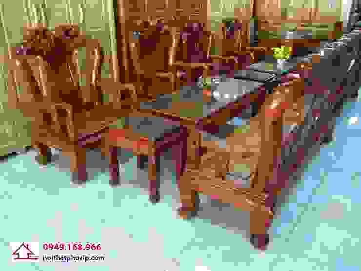 Mẫu SLH086: hiện đại  by Đồ gỗ nội thất Phố Vip, Hiện đại