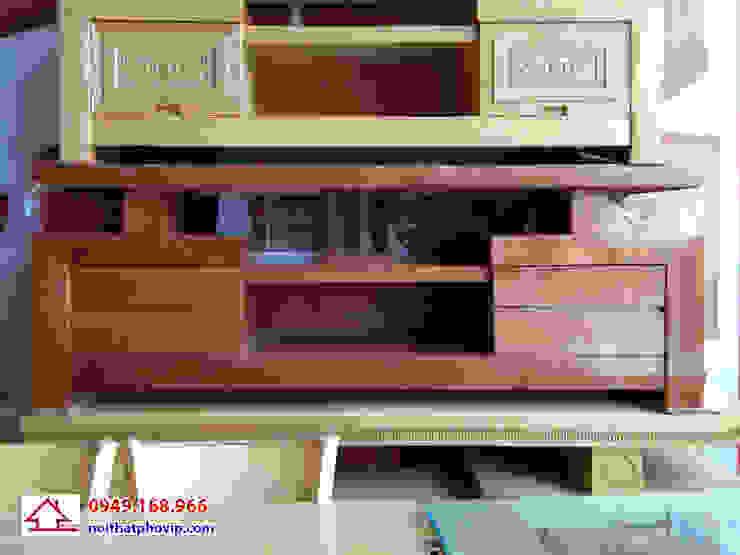 Mẫu KTVX501: hiện đại  by Đồ gỗ nội thất Phố Vip, Hiện đại