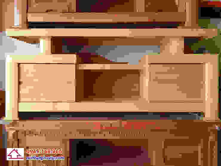 Mẫu KTVS114: hiện đại  by Đồ gỗ nội thất Phố Vip, Hiện đại