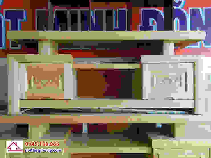 Mẫu KTVS521: hiện đại  by Đồ gỗ nội thất Phố Vip, Hiện đại