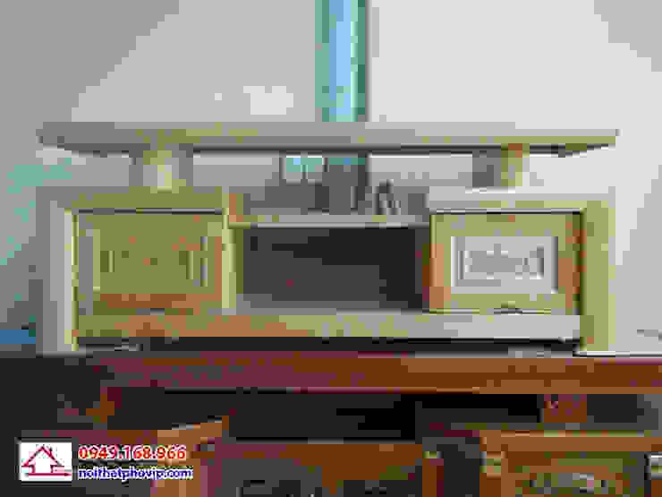 Mẫu KTVS574: hiện đại  by Đồ gỗ nội thất Phố Vip, Hiện đại