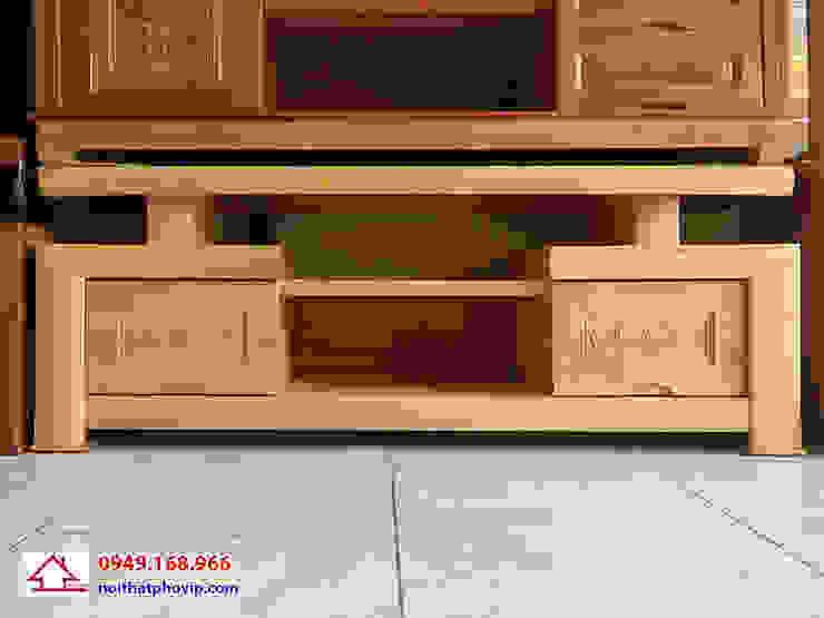 Mẫu KTVS103: hiện đại  by Đồ gỗ nội thất Phố Vip, Hiện đại