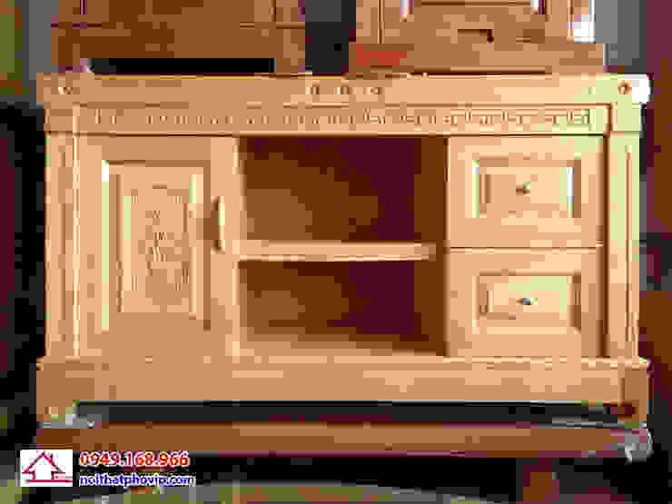 Mẫu KTVS125: hiện đại  by Đồ gỗ nội thất Phố Vip, Hiện đại