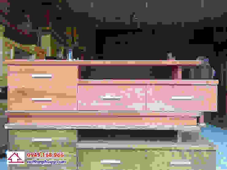 Mẫu KTVT150: hiện đại  by Đồ gỗ nội thất Phố Vip, Hiện đại