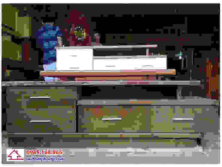 Mẫu KTVT151: hiện đại  by Đồ gỗ nội thất Phố Vip, Hiện đại