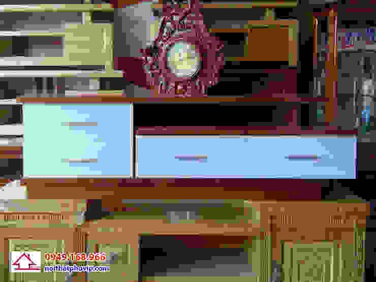 Mẫu KTVT149: hiện đại  by Đồ gỗ nội thất Phố Vip, Hiện đại