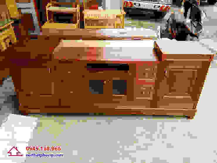 Mẫu KTVX563: hiện đại  by Đồ gỗ nội thất Phố Vip, Hiện đại