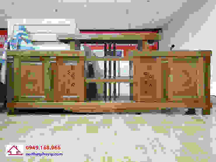 Mẫu KTVX565: hiện đại  by Đồ gỗ nội thất Phố Vip, Hiện đại