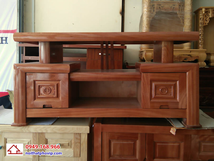 Mẫu KTVX092: hiện đại  by Đồ gỗ nội thất Phố Vip, Hiện đại
