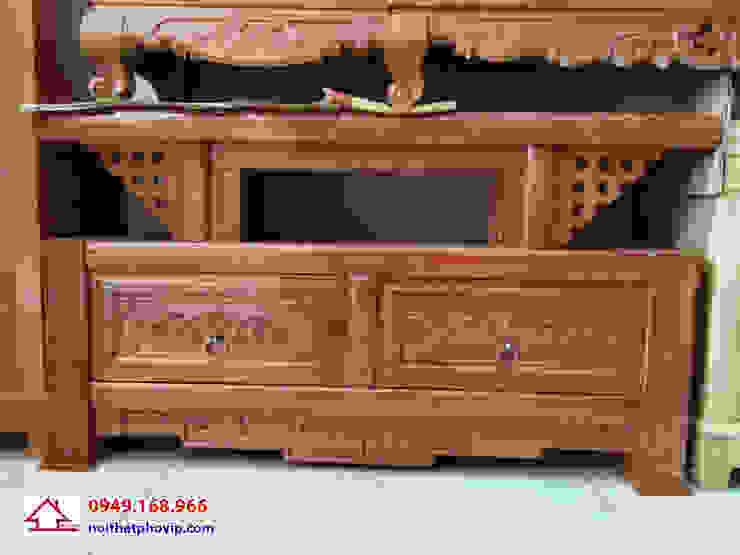 Mẫu KTVX516: hiện đại  by Đồ gỗ nội thất Phố Vip, Hiện đại