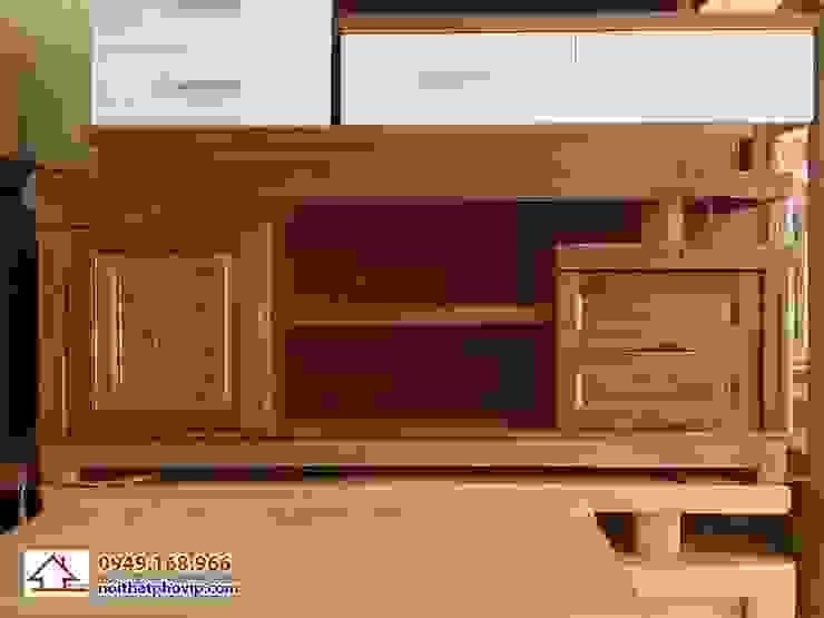 Mẫu KTVX500: hiện đại  by Đồ gỗ nội thất Phố Vip, Hiện đại