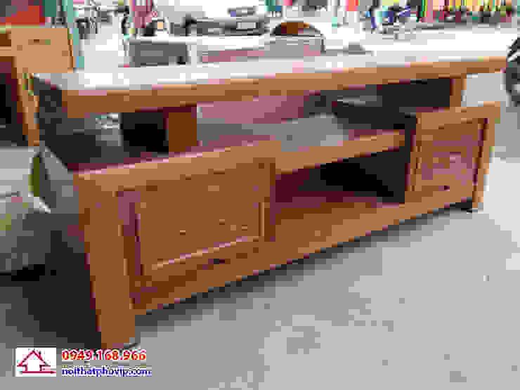 Mẫu KTVX560: hiện đại  by Đồ gỗ nội thất Phố Vip, Hiện đại