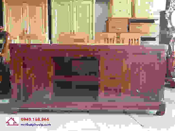Mẫu KTVX582: hiện đại  by Đồ gỗ nội thất Phố Vip, Hiện đại