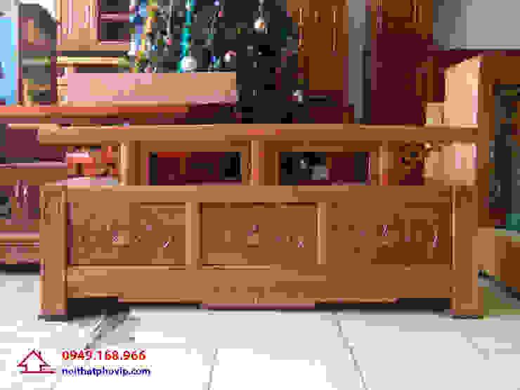 Mẫu KTVX518: hiện đại  by Đồ gỗ nội thất Phố Vip, Hiện đại