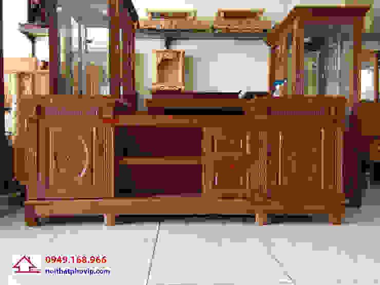 Mẫu KTVX581: hiện đại  by Đồ gỗ nội thất Phố Vip, Hiện đại