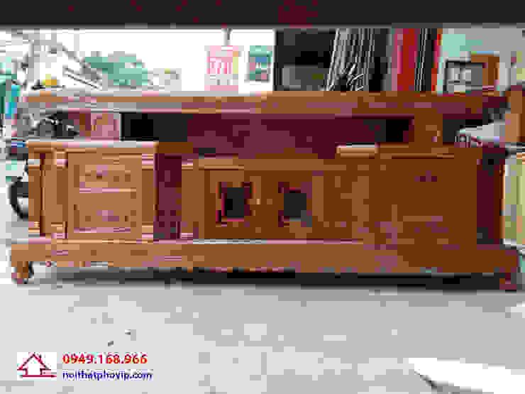 Mẫu KTVX558: hiện đại  by Đồ gỗ nội thất Phố Vip, Hiện đại