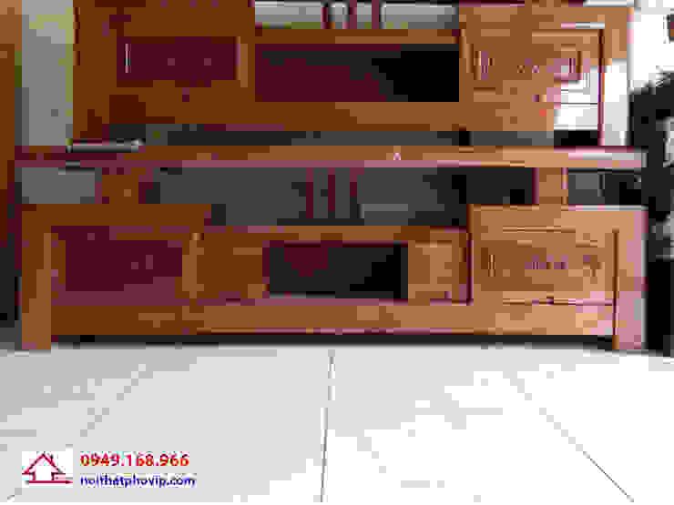 Mẫu KTVX088: hiện đại  by Đồ gỗ nội thất Phố Vip, Hiện đại