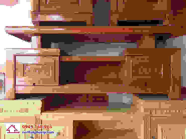 Mẫu KTVX091: hiện đại  by Đồ gỗ nội thất Phố Vip, Hiện đại